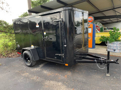2021 CARGO CRAFT 5X10 DOORS for sale at Trophy Trailers in New Braunfels TX
