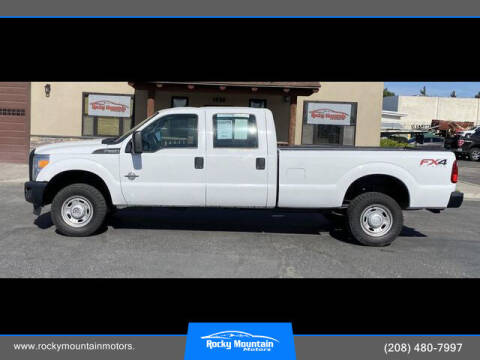 2013 Ford F-350 Super Duty for sale at Rocky Mountain Motors in Idaho Falls ID