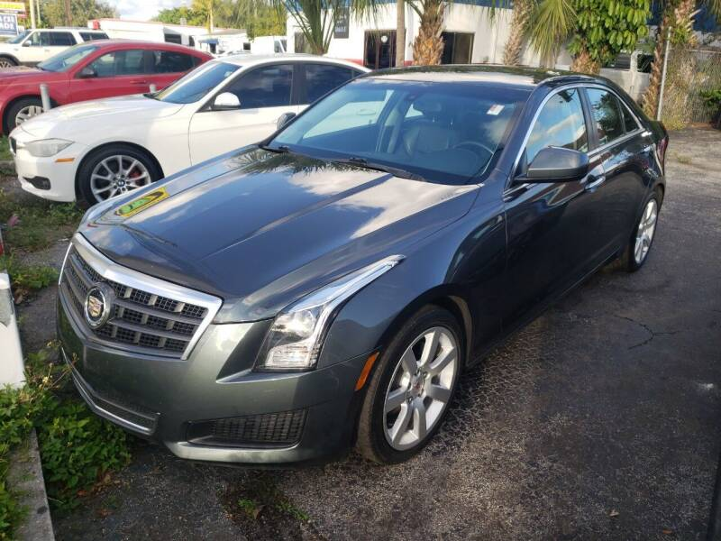 2013 Cadillac ATS for sale at Bargain Auto Sales in West Palm Beach FL