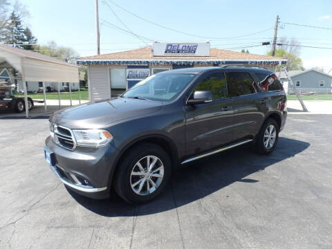 2015 Dodge Durango for sale at DeLong Auto Group in Tipton IN
