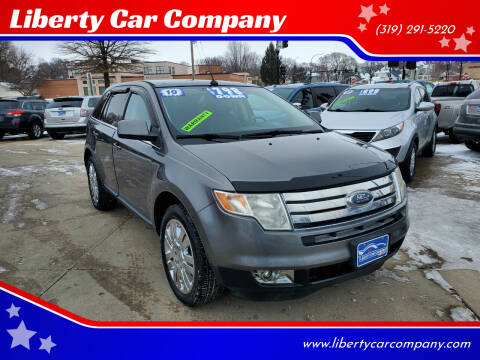 2010 Ford Edge for sale at Liberty Car Company in Waterloo IA