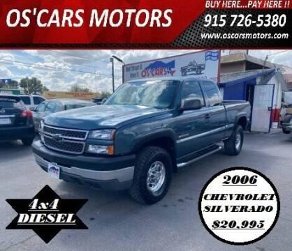 2006 Chevrolet Silverado 2500HD for sale at Os'Cars Motors in El Paso TX