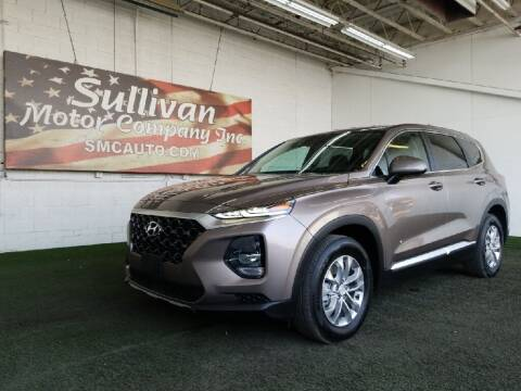 2020 Hyundai Santa Fe for sale at SULLIVAN MOTOR COMPANY INC. in Mesa AZ