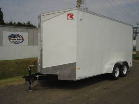 2021 RC 7 X 16 ENCLOSED for sale at Midwest Trailer Sales & Service in Agra KS