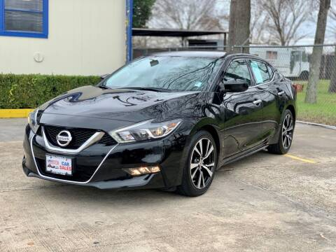 2018 Nissan Maxima for sale at USA Car Sales in Houston TX