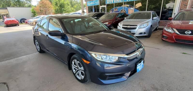2018 Honda Civic for sale at Divine Auto Sales LLC in Omaha NE