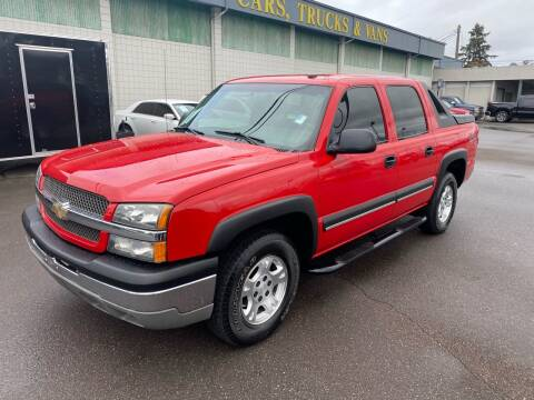 2003 Chevrolet Avalanche for sale at Vista Auto Sales in Lakewood WA