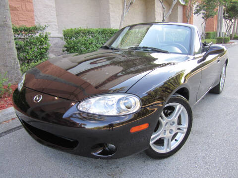 2004 Mazda MX-5 Miata for sale at FLORIDACARSTOGO in West Palm Beach FL