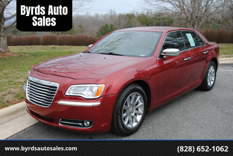 2013 Chrysler 300 for sale at Byrds Auto Sales in Marion NC