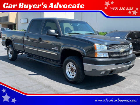 2004 Chevrolet Silverado 2500HD for sale at Car Buyer's Advocate in Phoenix AZ