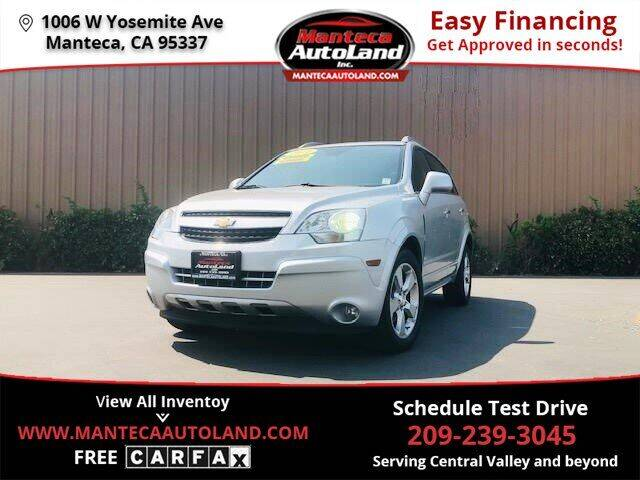 2014 Chevrolet Captiva Sport for sale at Manteca Auto Land in Manteca CA