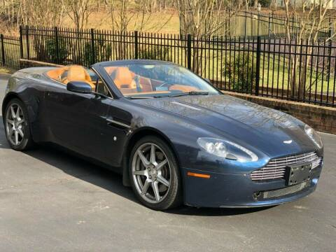 2007 Aston Martin V8 Vantage for sale at NJ Enterprises in Indianapolis IN