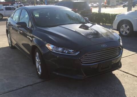 2016 Ford Fusion for sale at PICAZO AUTO SALES in South Houston TX