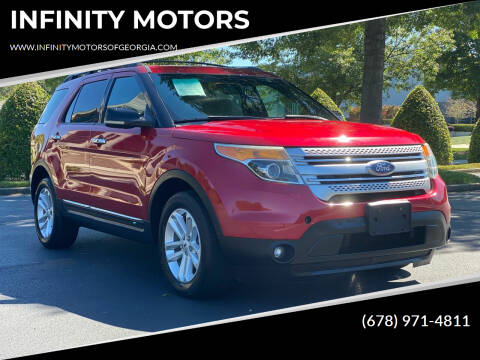 2012 Ford Explorer for sale at INFINITY MOTORS in Gainesville GA