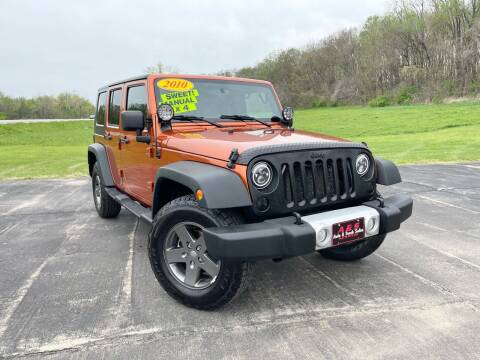 2010 Jeep Wrangler Unlimited for sale at A & S Auto and Truck Sales in Platte City MO