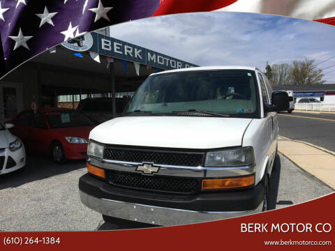 2009 Chevrolet Express Cargo for sale at Berk Motor Co in Whitehall PA