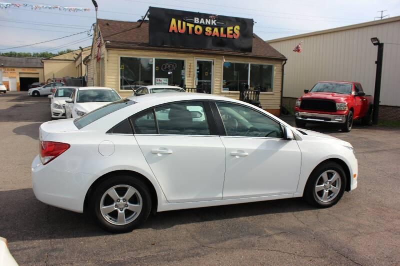 2014 Chevrolet Cruze for sale at BANK AUTO SALES in Wayne MI