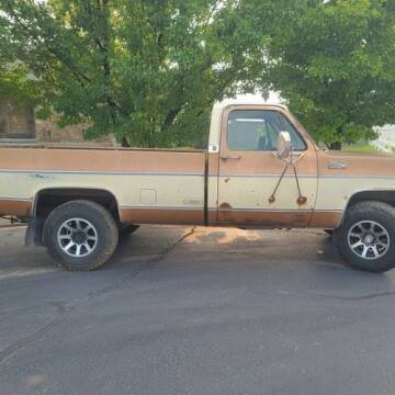 1980 GMC C/K 2500 Series for sale at Classic Car Deals in Cadillac MI