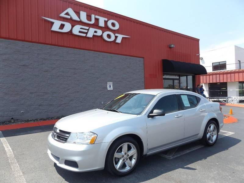 2012 Dodge Avenger for sale at Auto Depot of Madison in Madison TN