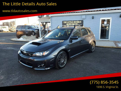 2011 Subaru Impreza for sale at The Little Details Auto Sales in Reno NV