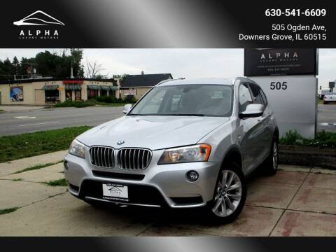 2014 BMW X3 for sale at Alpha Luxury Motors in Downers Grove IL