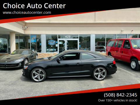 2015 Audi S5 for sale at Choice Auto Center in Shrewsbury MA