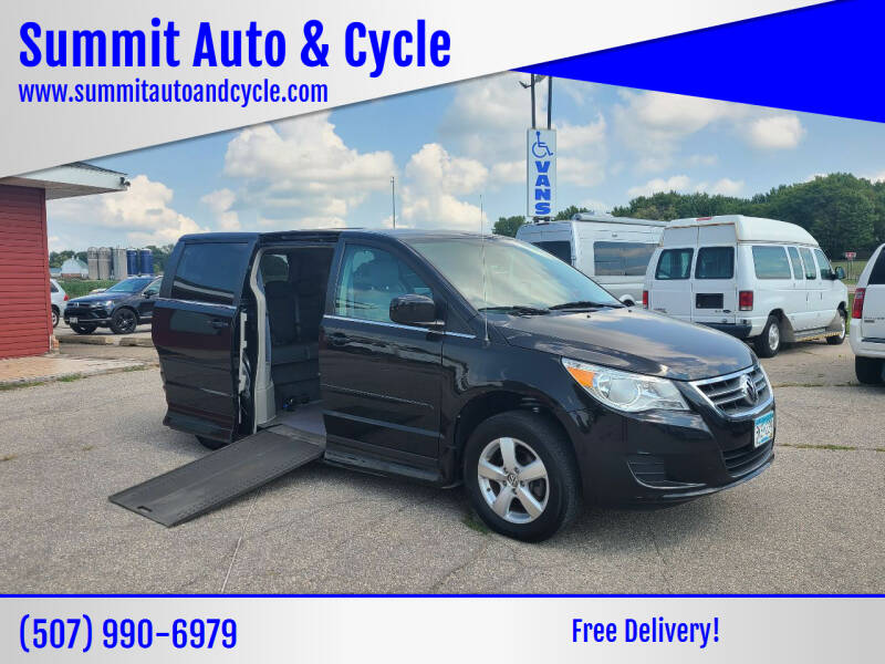2010 Volkswagen Routan for sale at Summit Auto & Cycle in Zumbrota MN