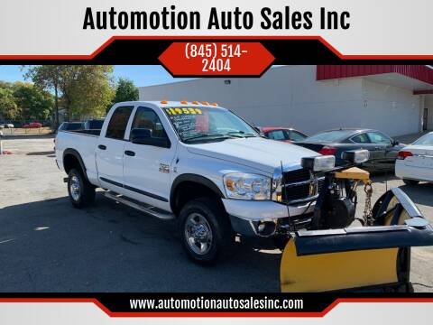 2007 Dodge Ram Pickup 3500 for sale at Automotion Auto Sales Inc in Kingston NY