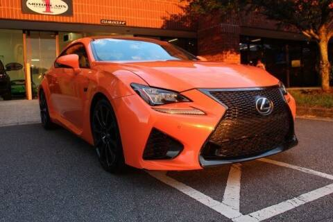 2015 Lexus RC F for sale at Team One Motorcars, LLC in Marietta GA