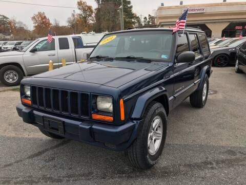 2001 Jeep Cherokee for sale at Mega Autosports in Chesapeake VA