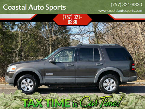2006 Ford Explorer for sale at Coastal Auto Sports in Chesapeake VA