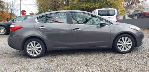 2014 Kia Forte for sale at On The Road Again Auto Sales in Doraville GA