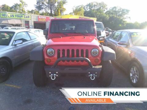 2010 Jeep Wrangler for sale at Marino's Auto Sales in Laurel DE