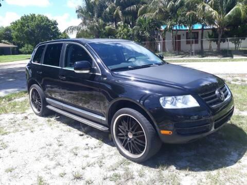 2007 Volkswagen Touareg for sale at LAND & SEA BROKERS INC in Deerfield FL