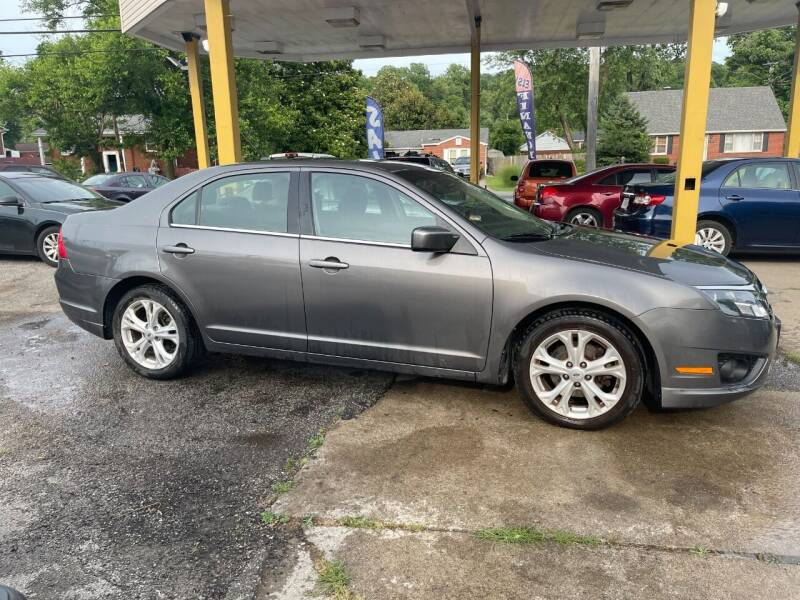 2012 Ford Fusion for sale at King Louis Auto Sales in Louisville KY