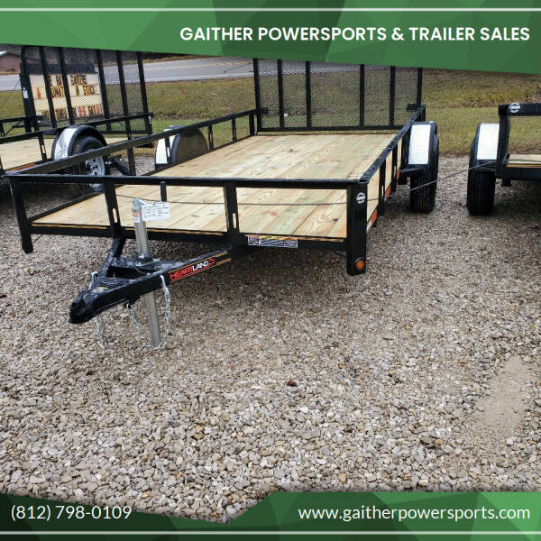"2021 Heartland 14'x82"" with gate Utility for sale at Gaither Powersports & Trailer Sales in Linton IN"