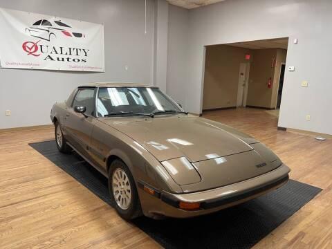 1985 Mazda RX-7 for sale at Quality Autos in Marietta GA