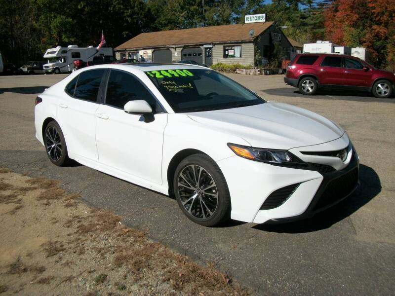 2018 Toyota Camry for sale at Olde Bay RV in Rochester NH