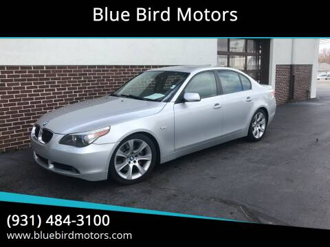 2007 BMW 5 Series for sale at Blue Bird Motors in Crossville TN