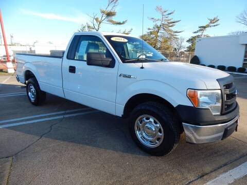 2014 Ford F-150 for sale at Vail Automotive in Norfolk VA