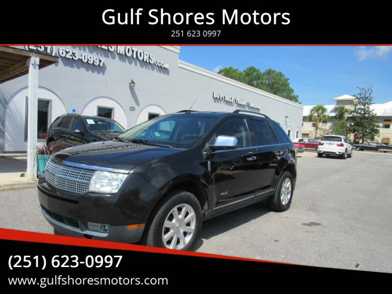 2010 Lincoln MKX for sale at Gulf Shores Motors in Gulf Shores AL