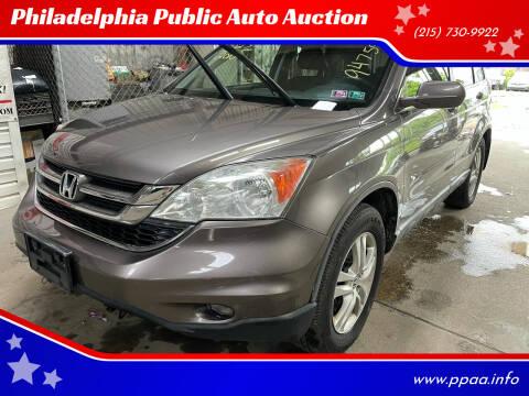 2010 Honda CR-V for sale at Philadelphia Public Auto Auction in Philadelphia PA