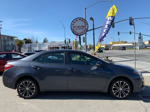 2016 Toyota Corolla for sale at San Mateo Auto Sales in San Mateo CA
