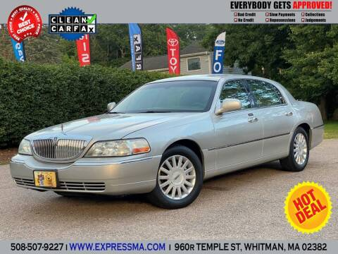 2003 Lincoln Town Car for sale at Auto Sales Express in Whitman MA