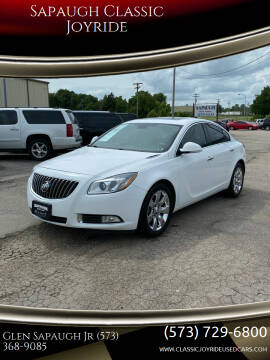 2012 Buick Regal for sale at Sapaugh Classic Joyride in Salem MO