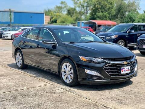 2019 Chevrolet Malibu for sale at USA Car Sales in Houston TX