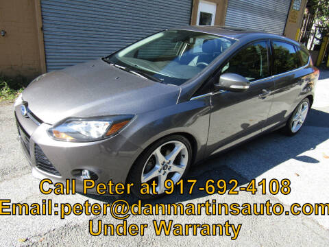 2012 Ford Focus for sale at Dan Martin's Auto Depot LTD in Yonkers NY