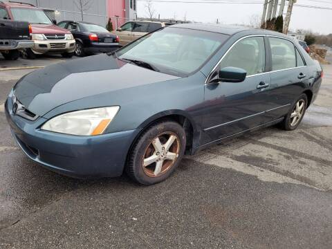 2004 Honda Accord for sale at JG Motors in Worcester MA