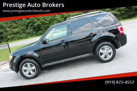 2012 Ford Escape for sale at Prestige Auto Brokers in Raleigh NC