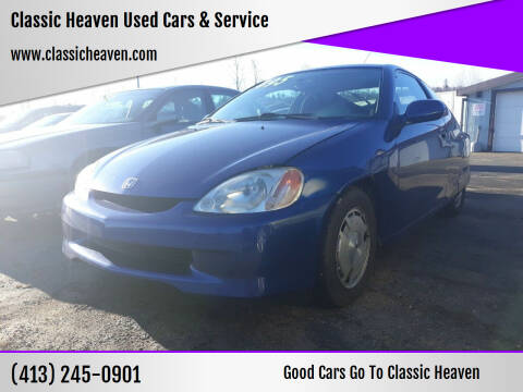 2002 Honda Insight for sale at Classic Heaven Used Cars & Service in Brimfield MA